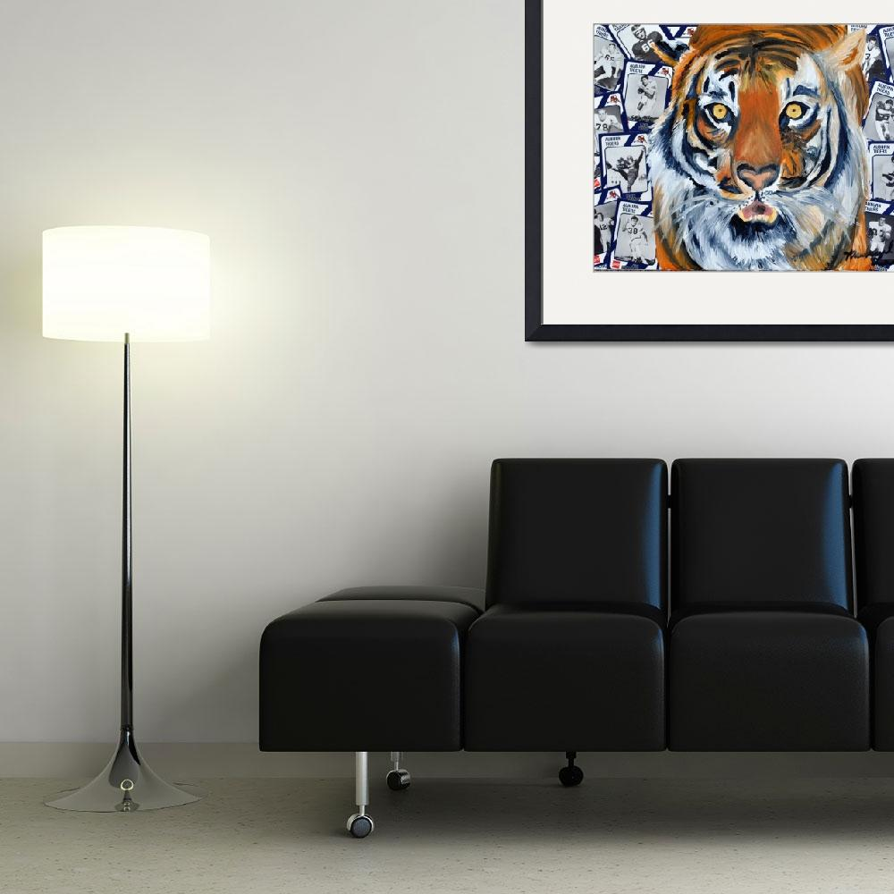 """Auburn TIGER""  (2012) by riverratlee"