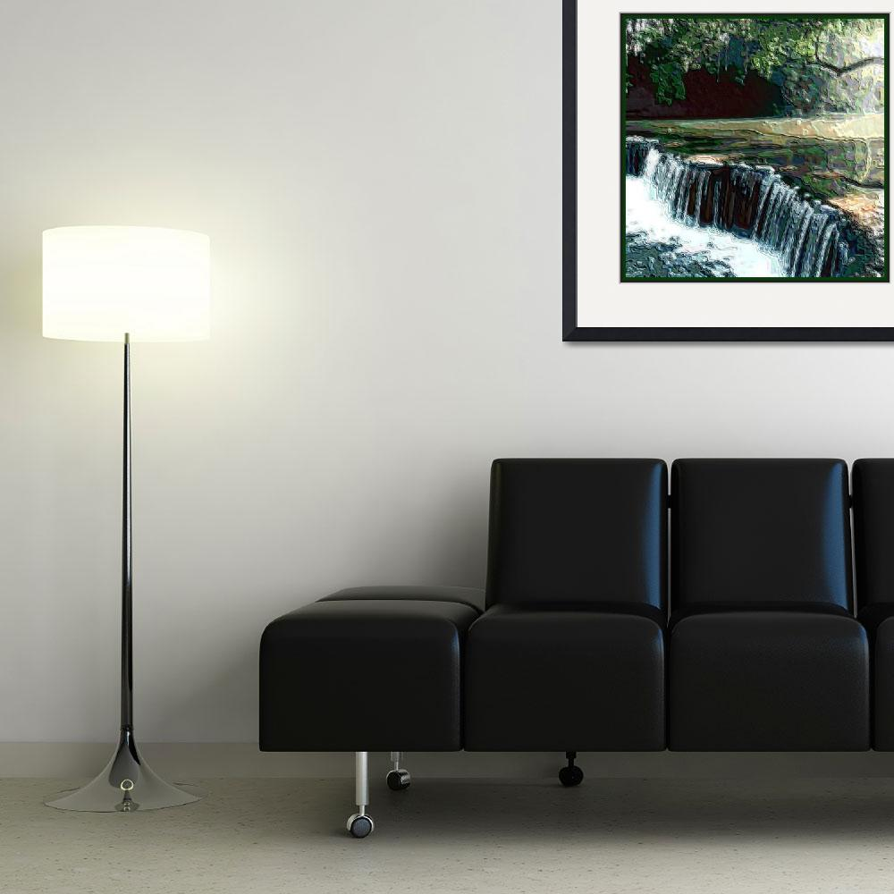 """""""FALLING WATERS""""  (2013) by missionart"""