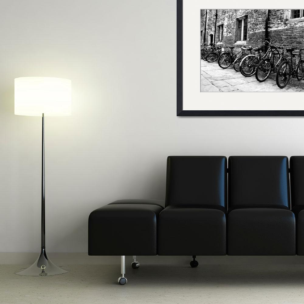 """""""Trinity Bikes in Black and White""""  by ssolis"""