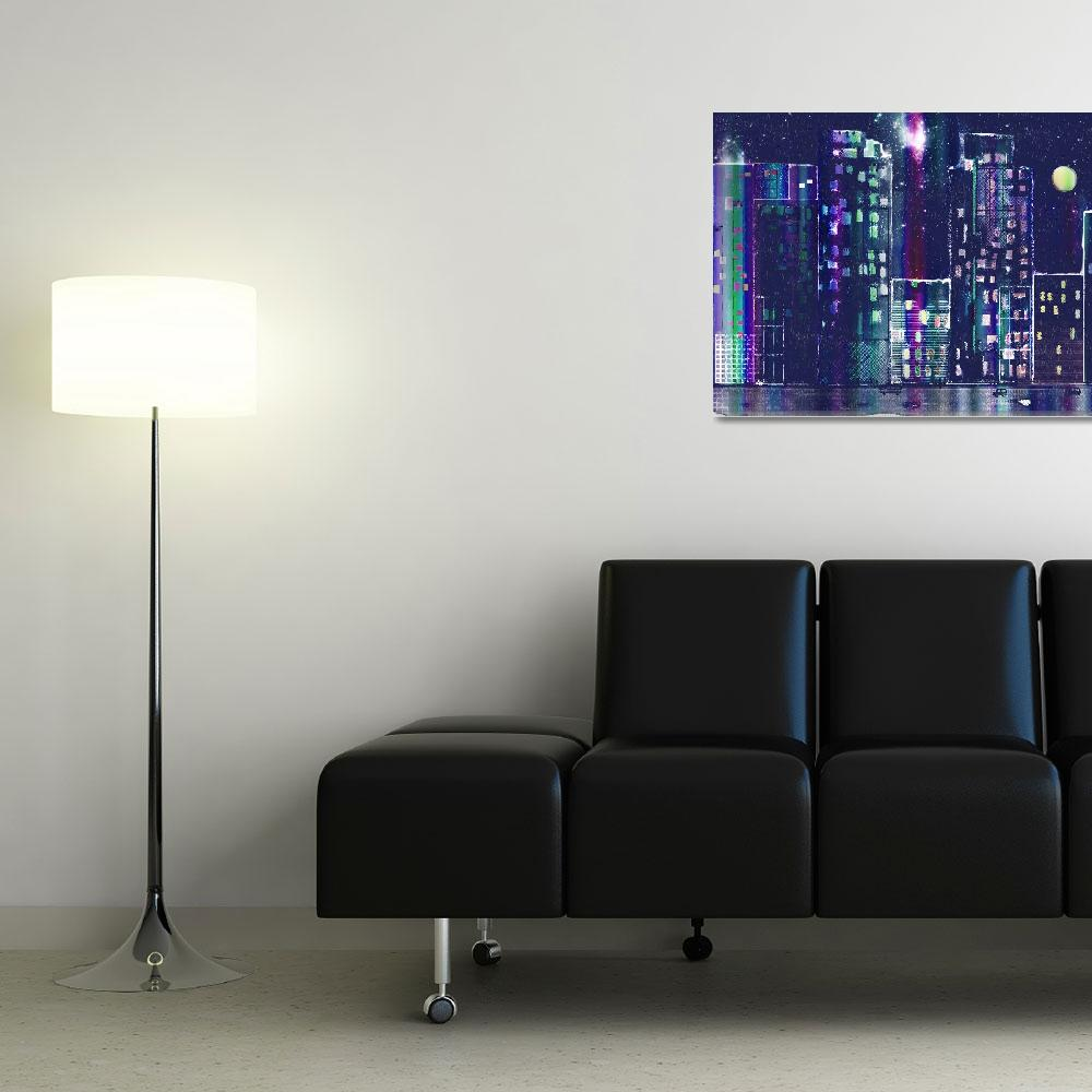 """""""Rainy Night In The City""""  (2010) by awagner"""