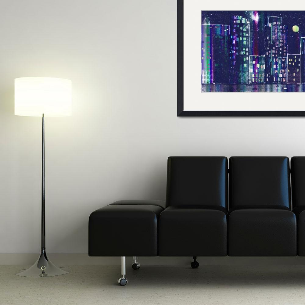 """""""Rainy Night In The City&quot  (2010) by awagner"""