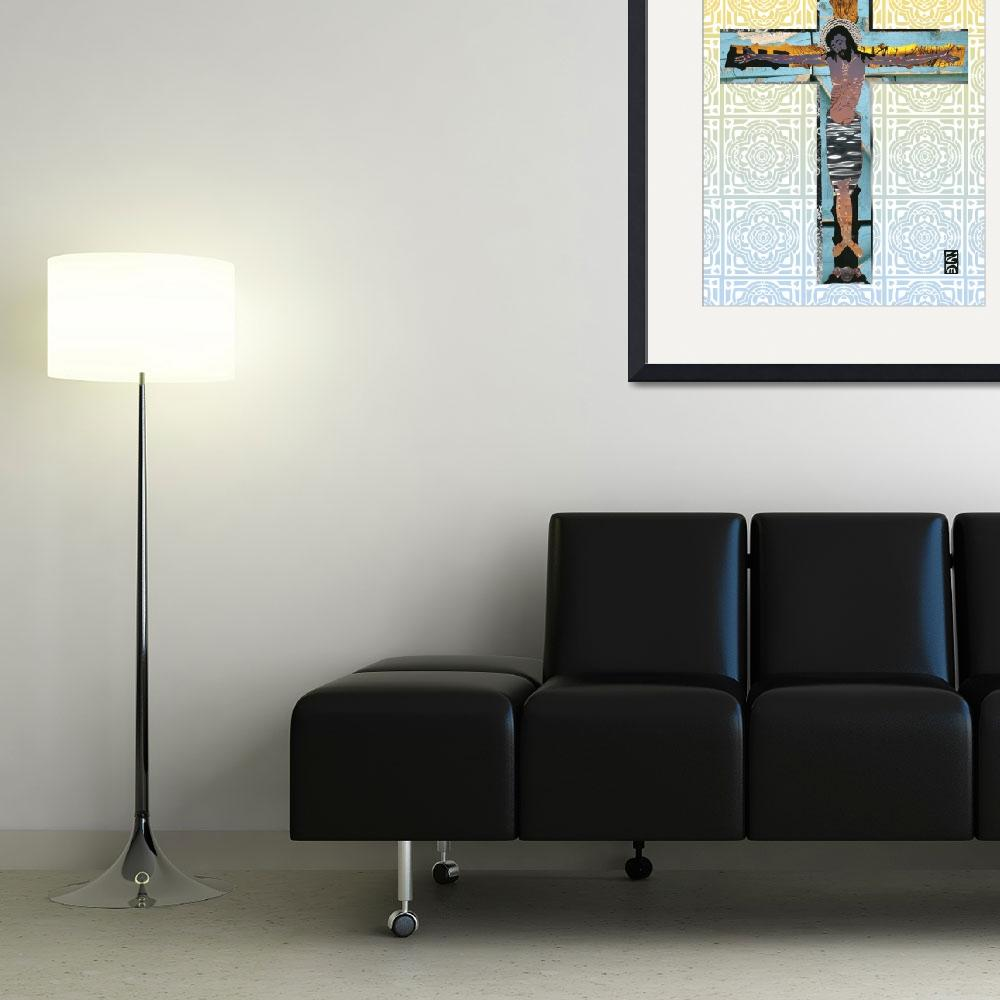 """""""Crucifixion&quot  (2011) by jgwhitney"""