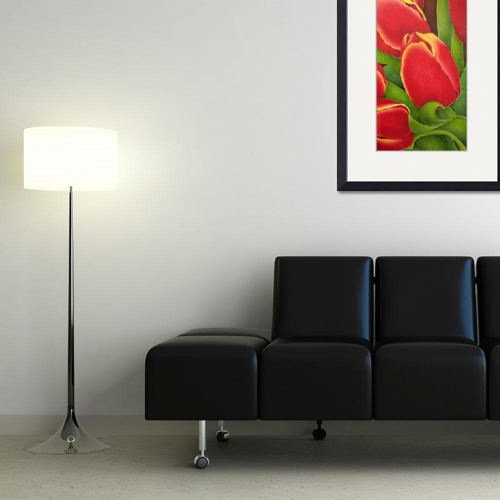 """""""Red Tulips&quot  (2004) by terrimeyers"""
