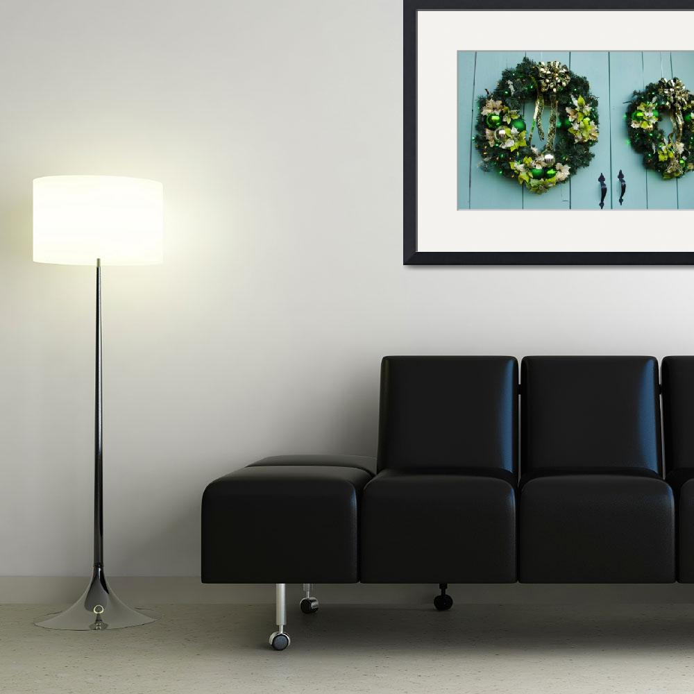 """""""Green Wreaths""""  (2012) by WildAboutNaturePhotography"""