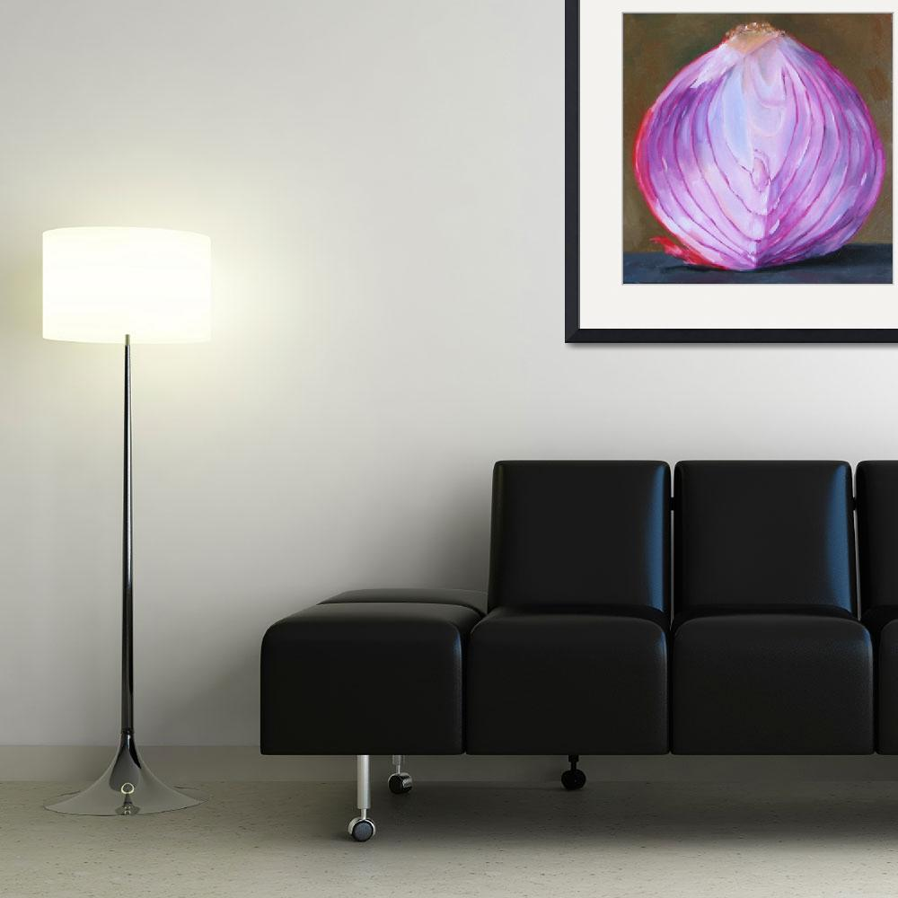 """bisected red onion&quot  (2007) by nathanbond"