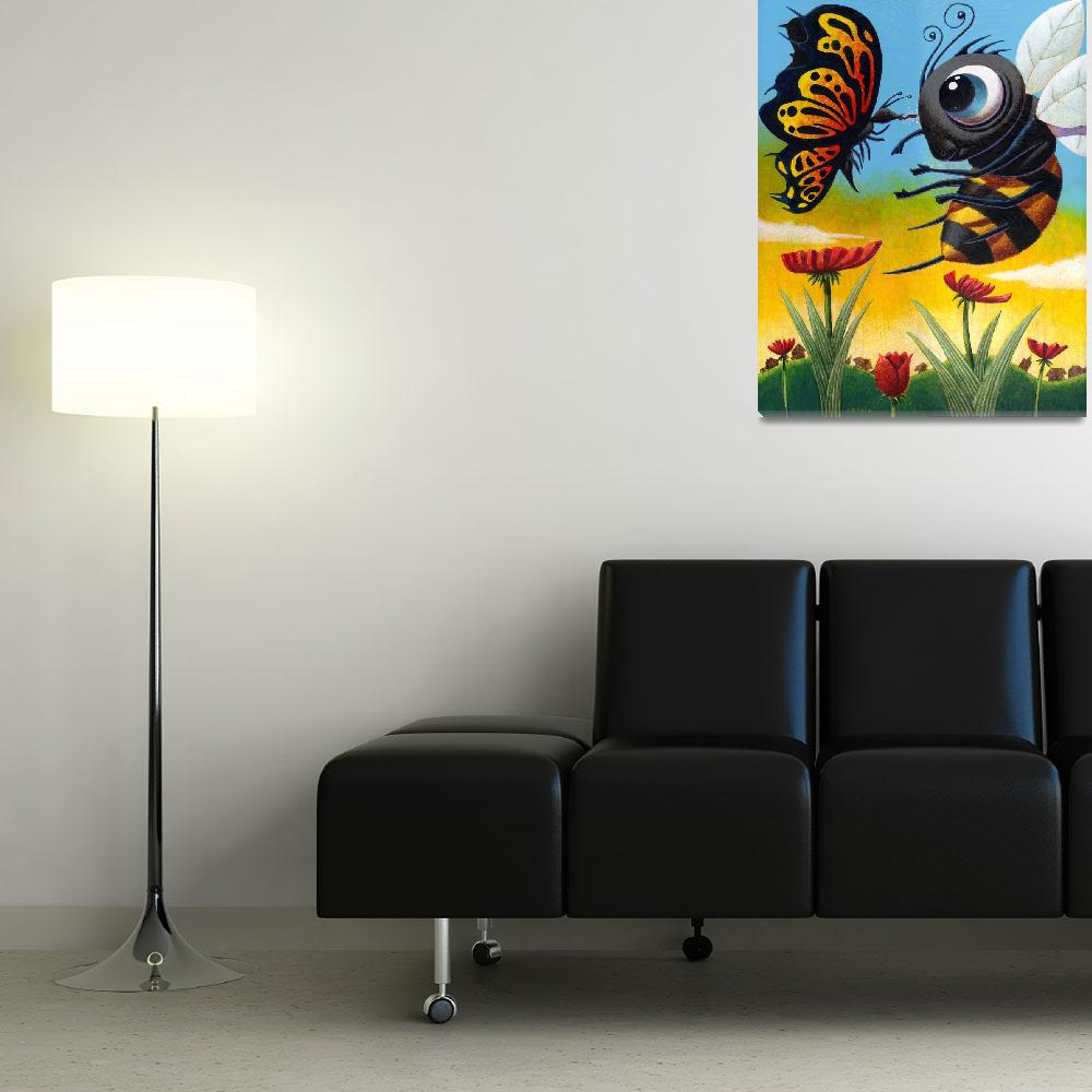 """""""Bizirk Butterfly&quot  (2006) by MikeCressy"""