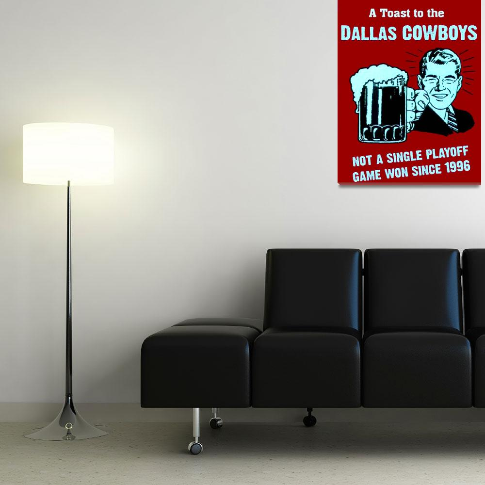 """""""Hate the Dallas Cowboys funny sign""""  (2000) by finalscore"""