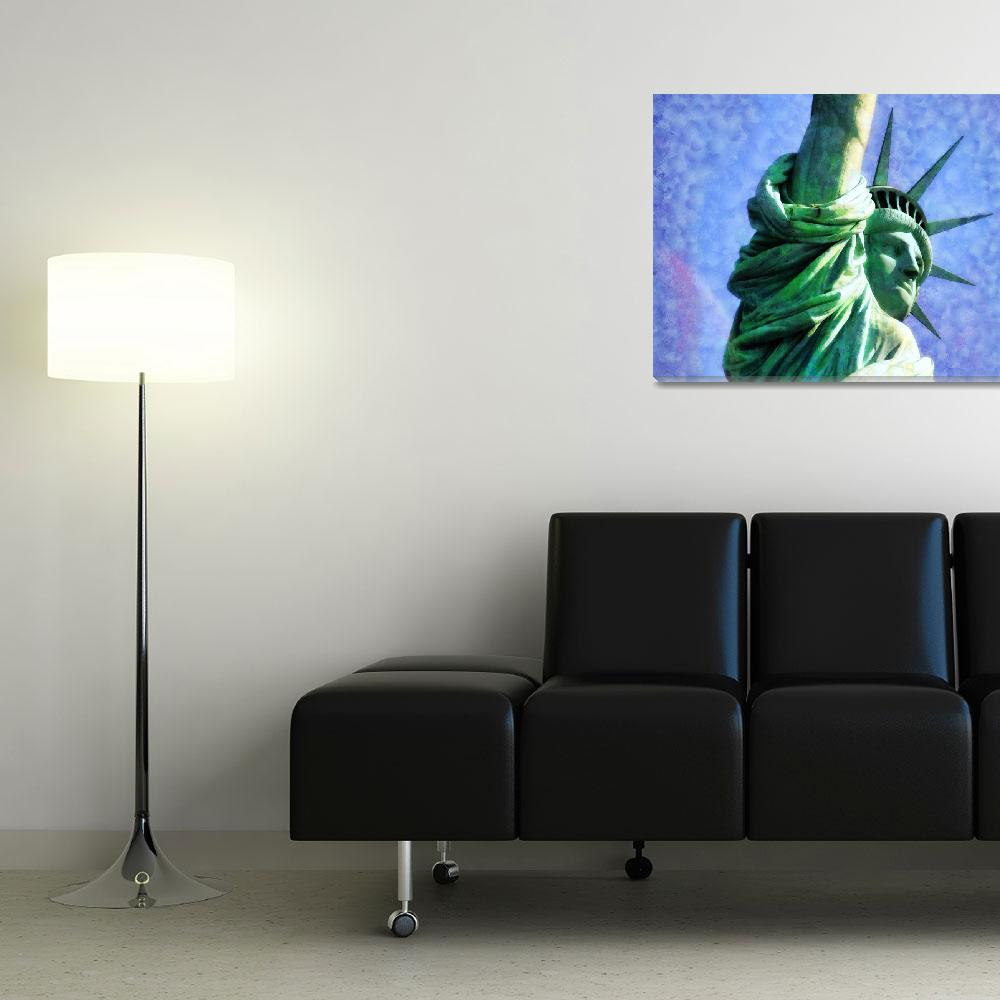 """Statue of Liberty""  (2012) by printsforwalls"