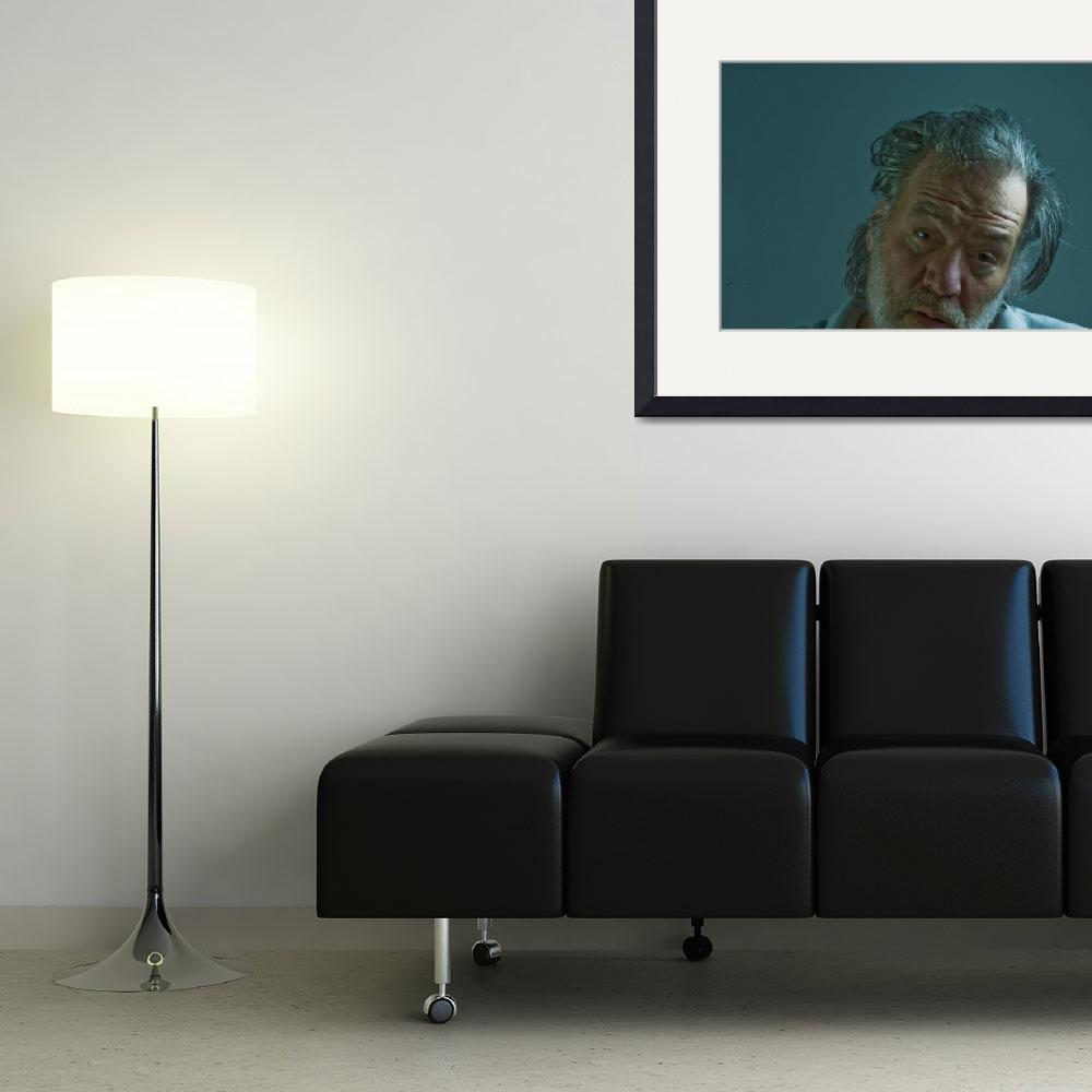 """""""Artist as an Old Man&quot  (2010) by carlnelson"""