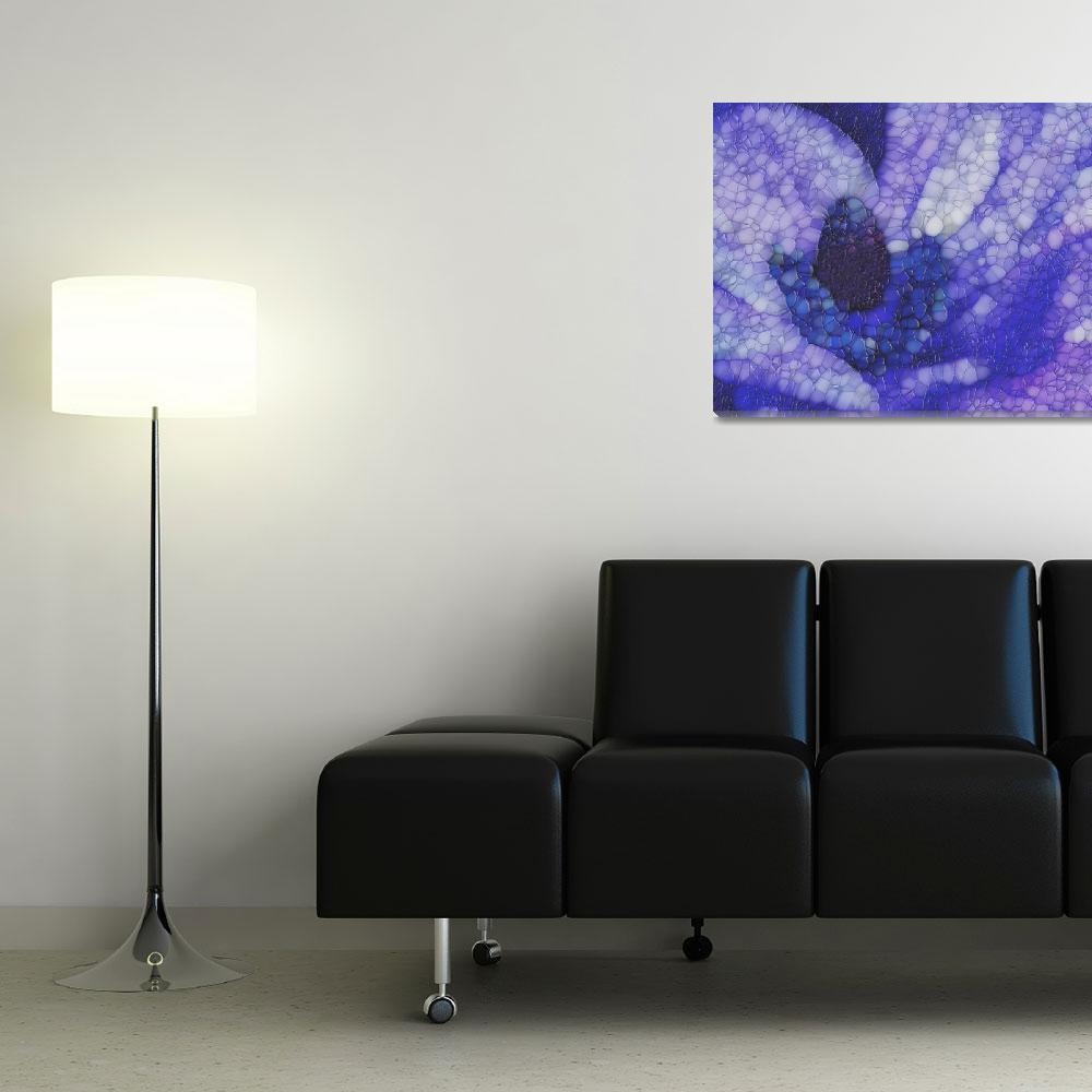 """""""Shades of Purple and Blue""""  (2012) by Jaxzee"""