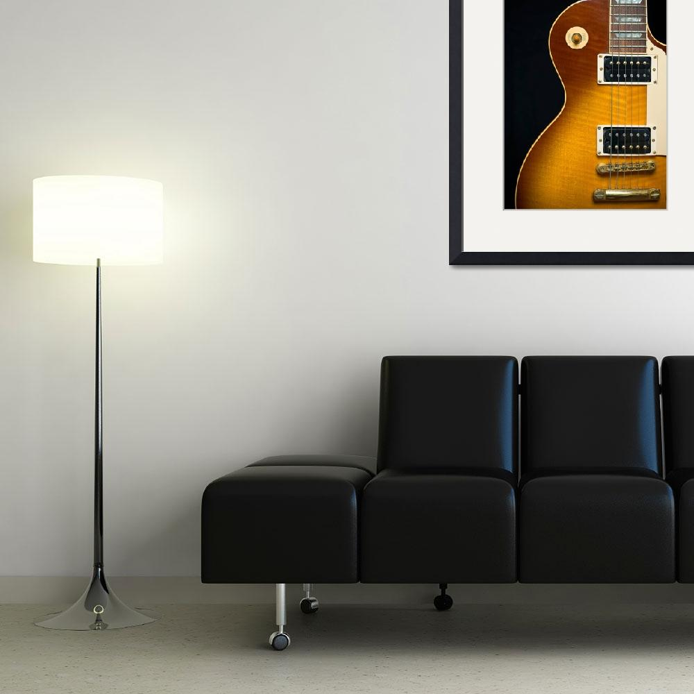 """""""Classic Rock Guitar with Honey Burst Finish&quot  (2009) by DAPhoto"""