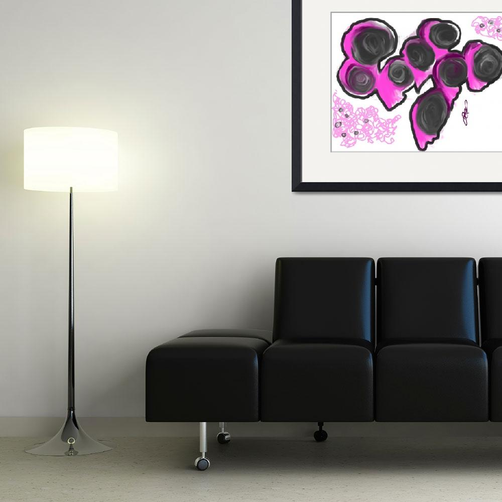 """""""Abstract Pink""""  (2011) by JoDee"""