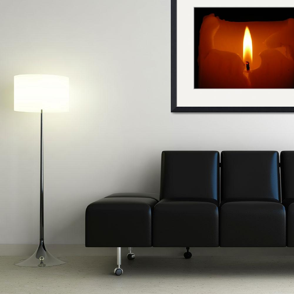 """Burning Candle&quot  (2008) by DavidVan"