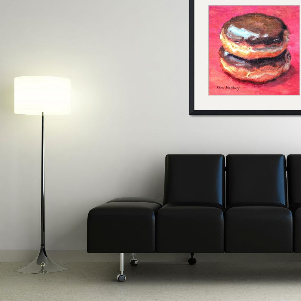 """Double Boston Cream&quot  (2014) by KimStenbergFineArt"