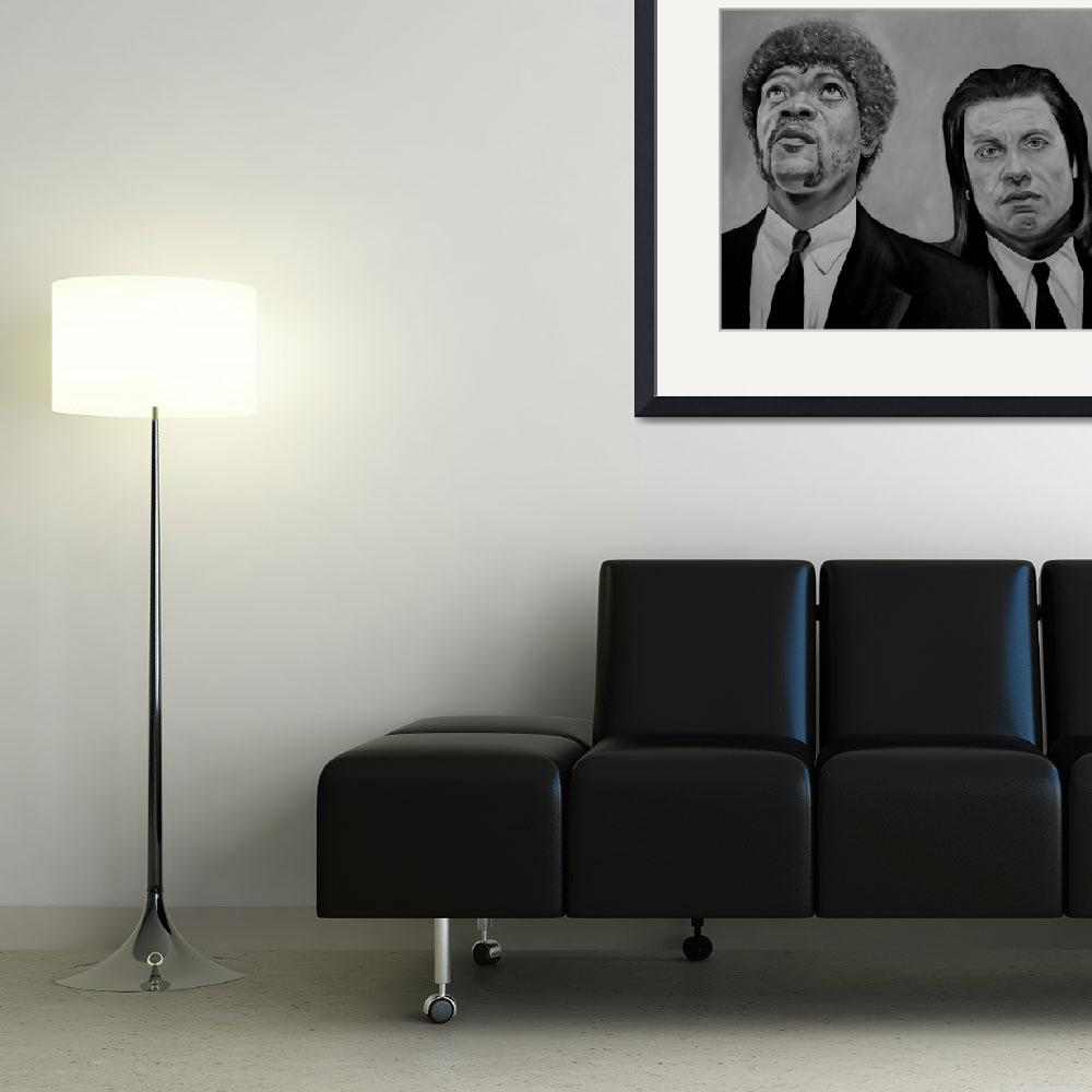 """""""Pulp Fiction""""  by iconicarts"""