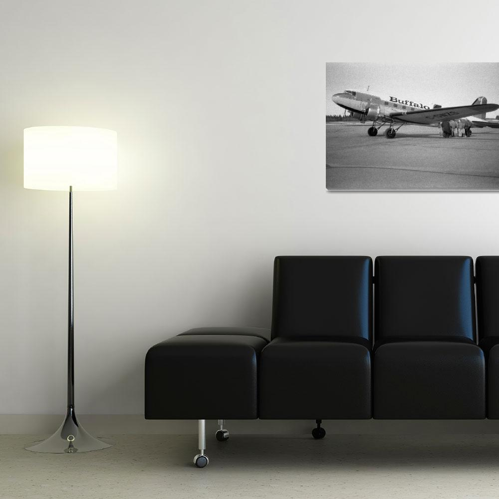 """""""DC-3 to Yellowknife""""  (1999) by robmorg"""