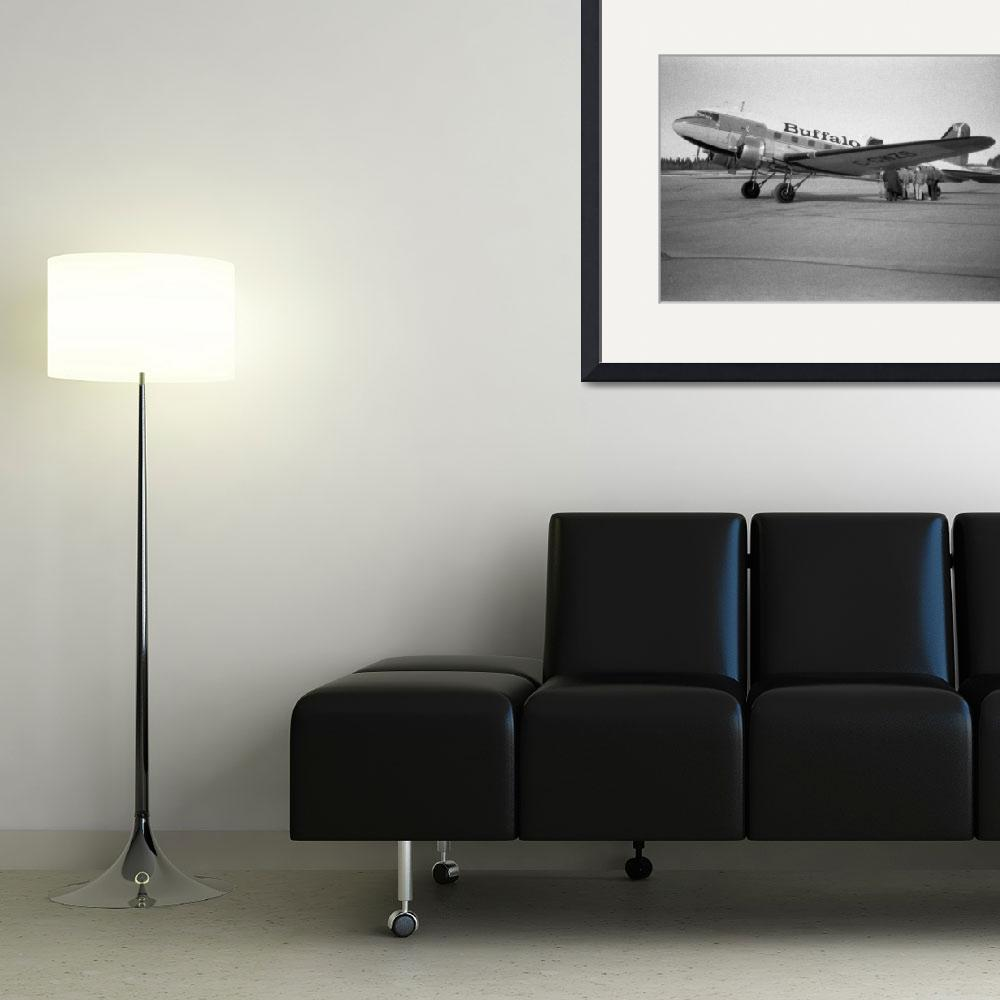 """DC-3 to Yellowknife&quot  (1999) by robmorg"