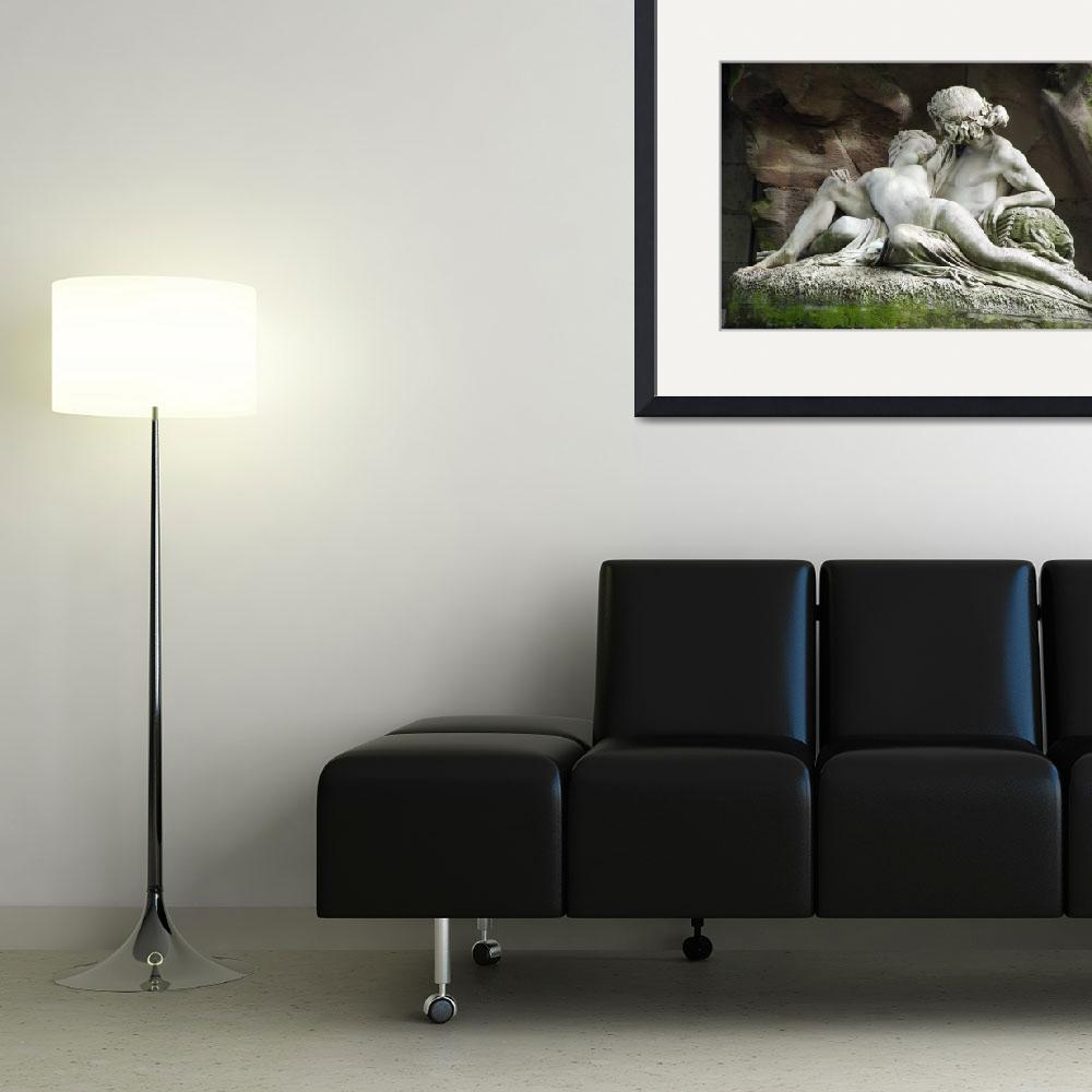"""""""Loving Recline&quot  (2012) by CorinneDany"""