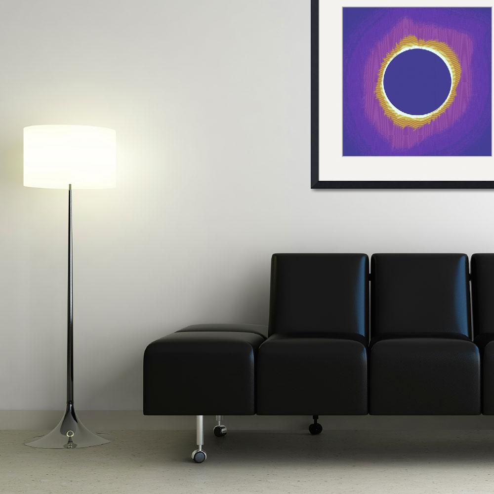"""""""Solar eclipse Poster 3&quot  by motionage"""