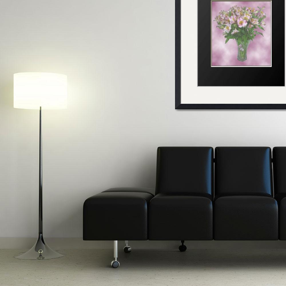 """""""Flowers-framed&quot  (2007) by bobsmithuk"""