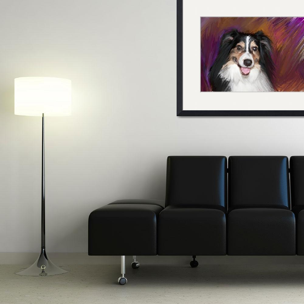 """Dog looking regal&quot  (2009) by kring"