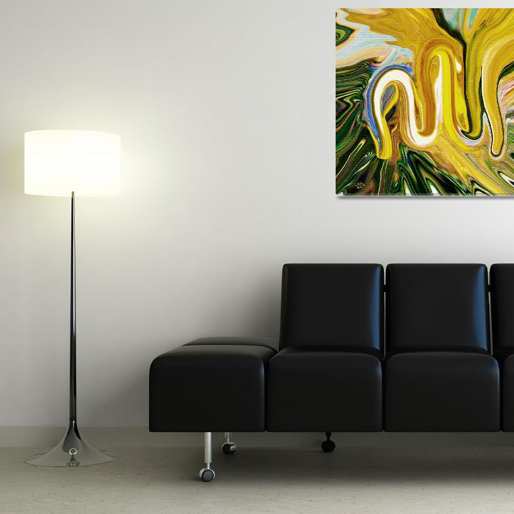 """""""Allah Painting&quot  (2006) by hamidsart"""