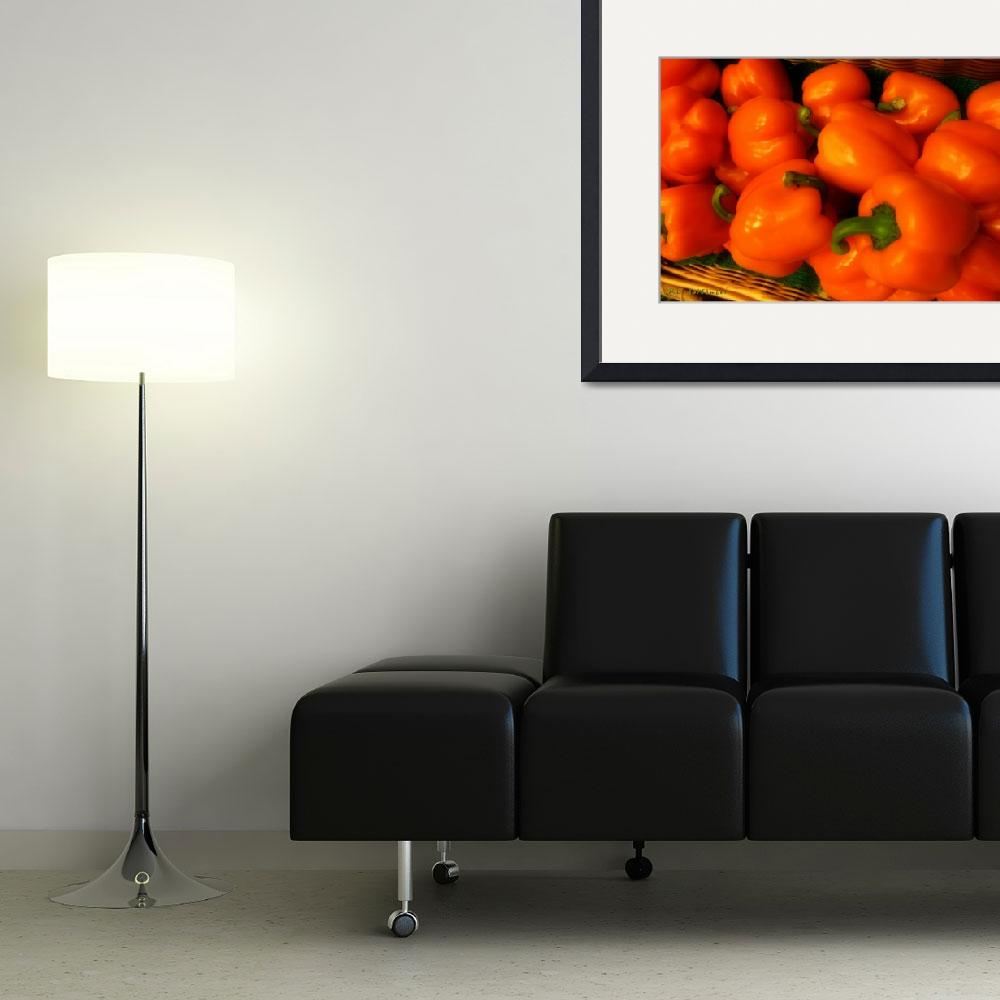 """""""Peppers Plump and Pretty&quot  (2010) by RCdeWinter"""