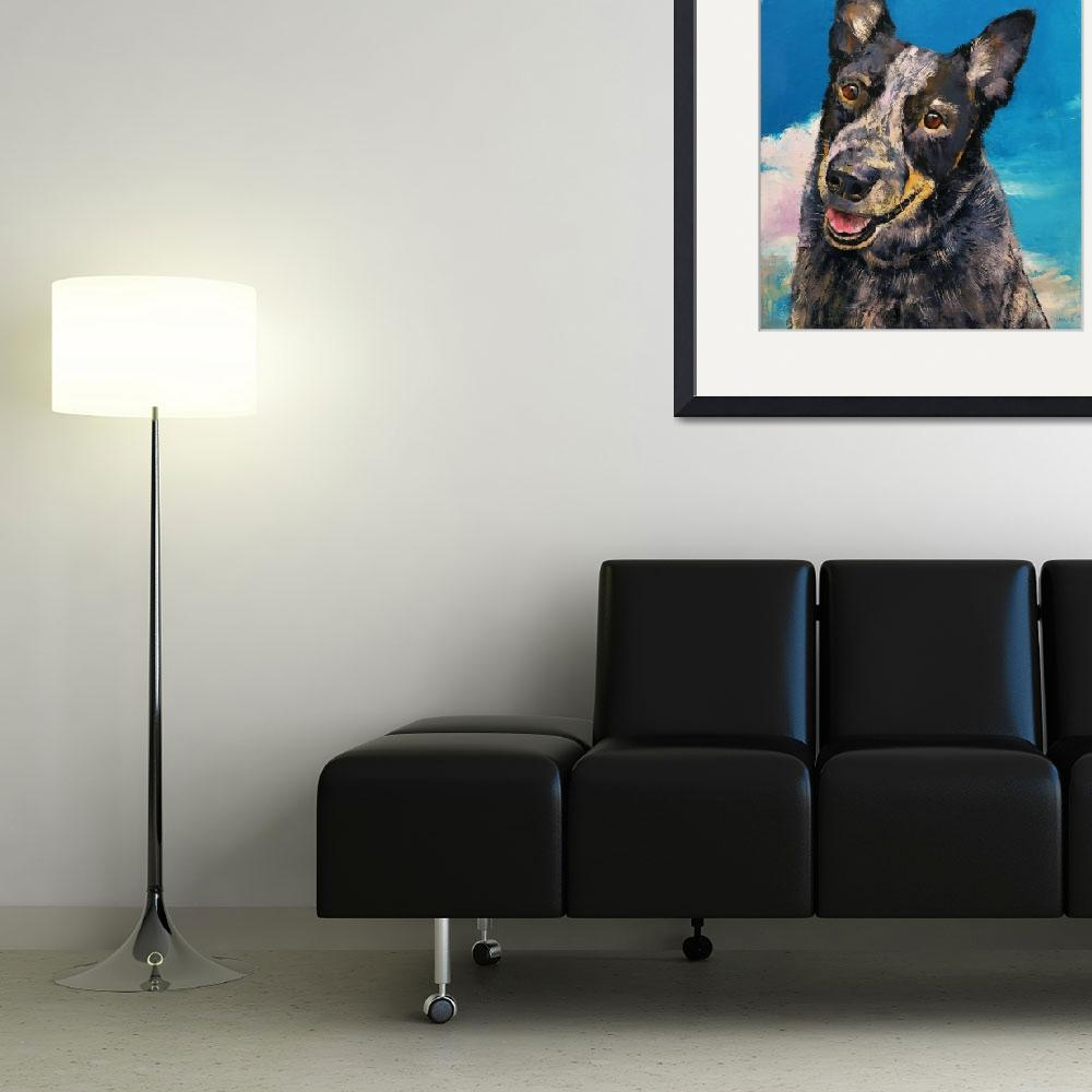 """""""Blue Heeler&quot  by creese"""