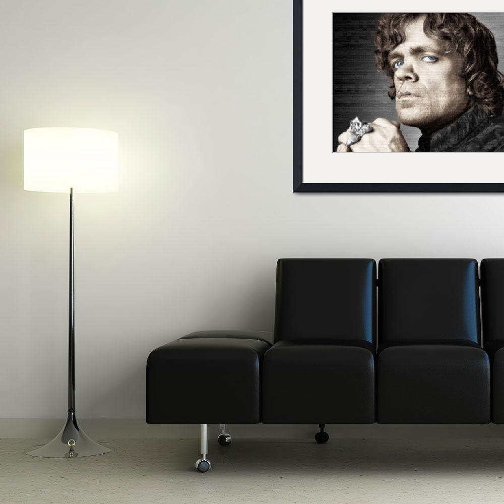 """""""Game of Thrones Tyrion Lannister Peter Dinklage&quot  by RubinoFineArt"""