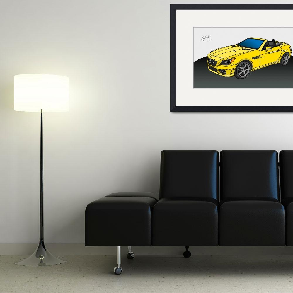 """""""Mercedes Benz Convertable&quot  (2014) by ShellyHathaway"""