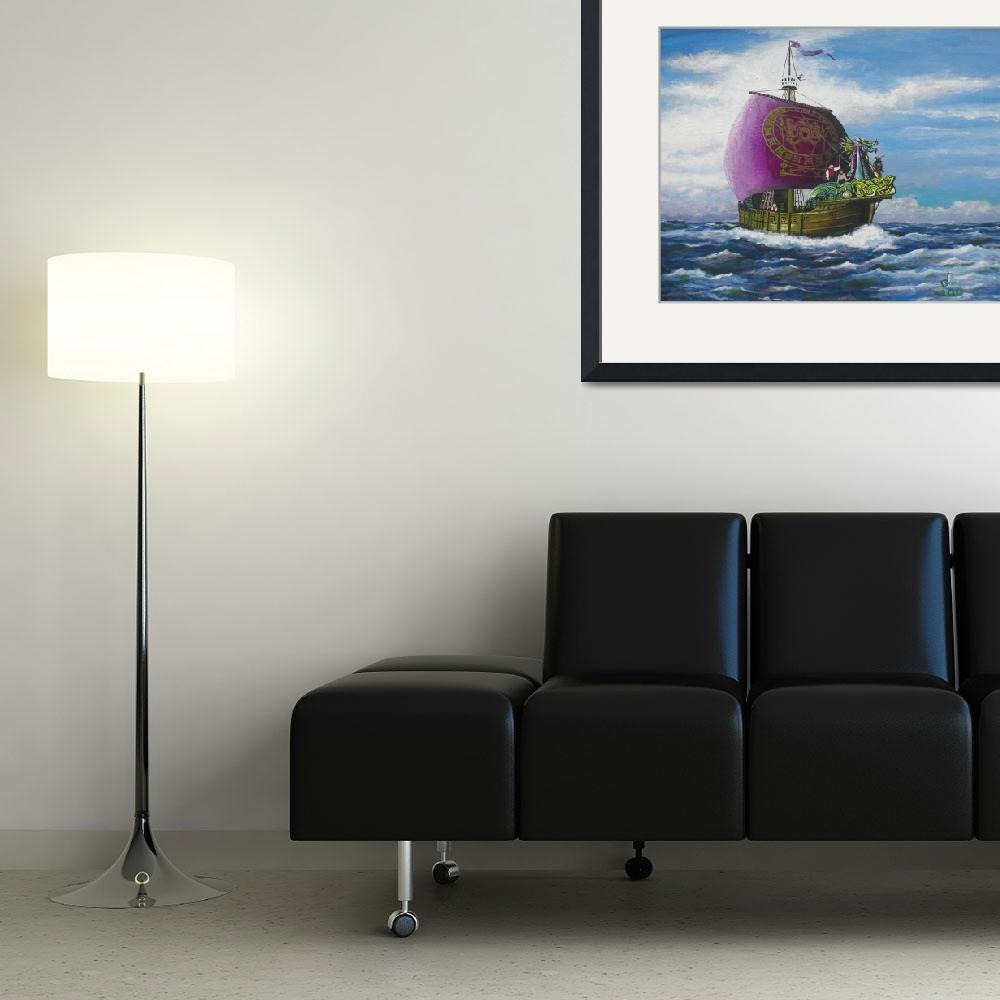 """""""The Dawntreader on the High Seas&quot  (2011) by tgministry"""