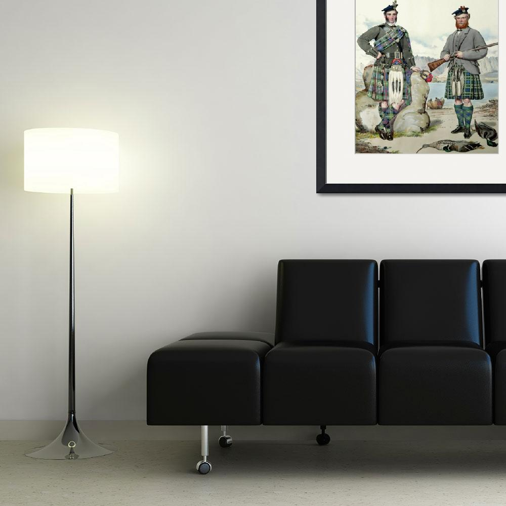 """MacLeod & MacNeill; Scots Highlanders (MacLeay)&quot  by DezineZone"