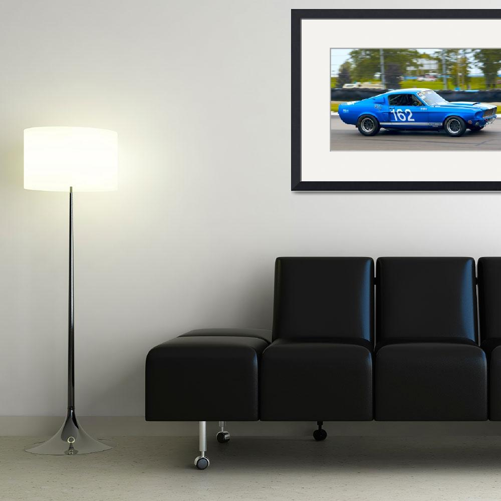 """""""Thoughts of Blue - Mustang GT350&quot  (2009) by auto-utopia"""