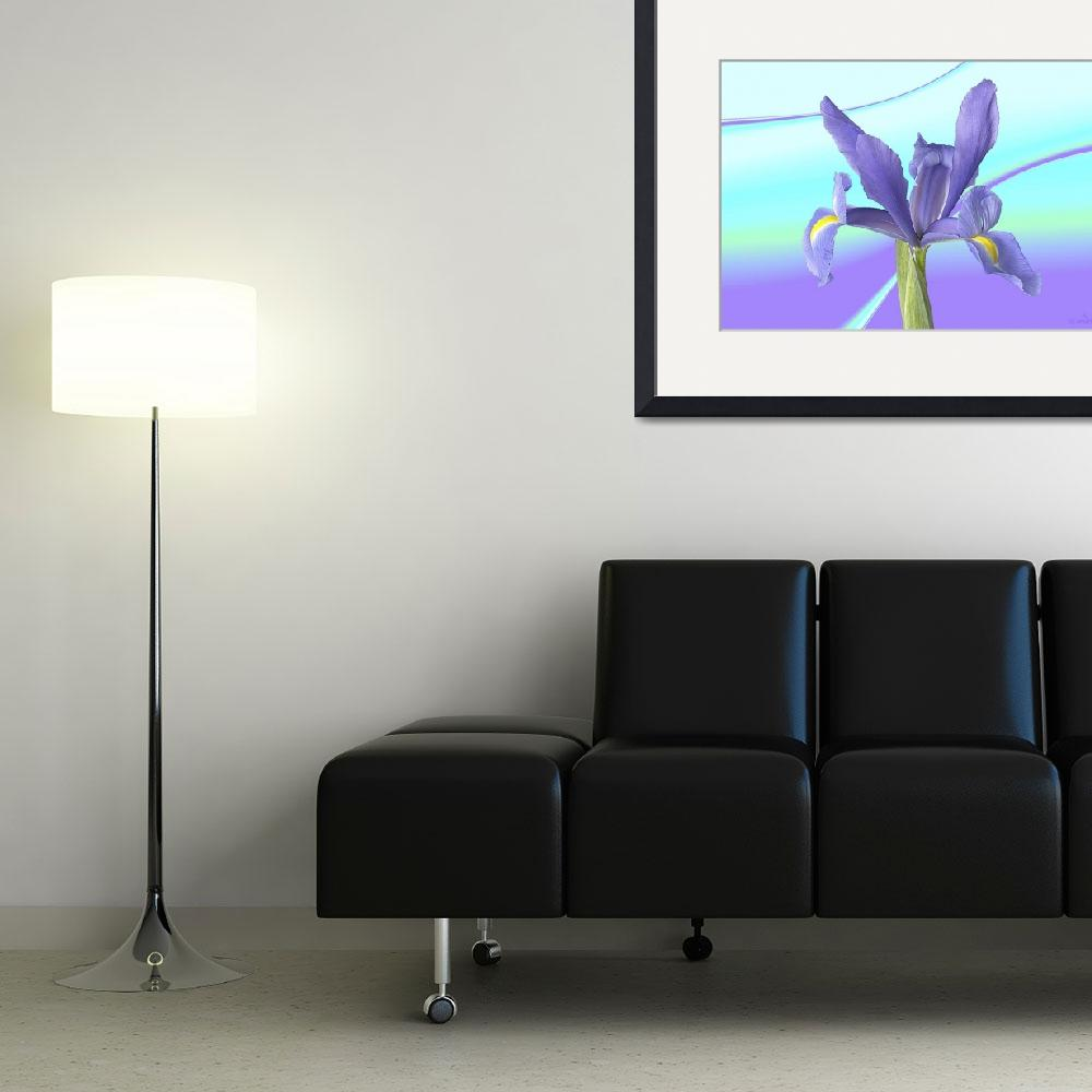 """Abstract flower collection (06 of 16)&quot  (2012) by WallArtDeco"
