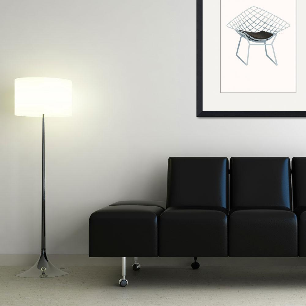 """""""Diamond Chair&quot  (2009) by jamesprovost"""