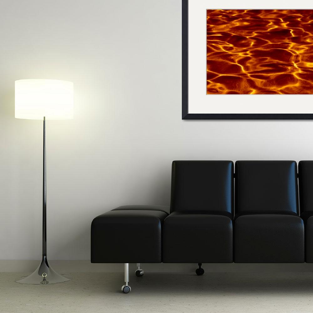 """""""Water or Lava, Lake of Fire&quot  (2010) by Corbett"""