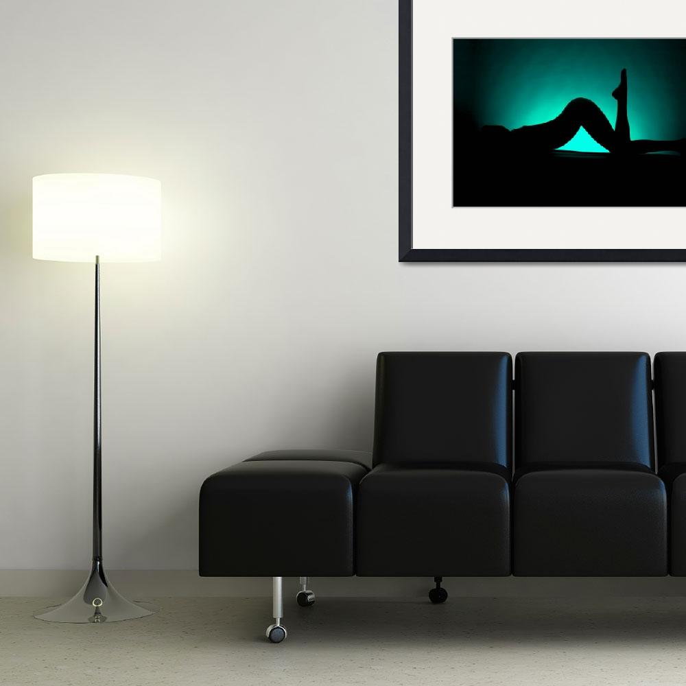 """""""Silhouette 3""""  (2010) by DNA-ARTS"""