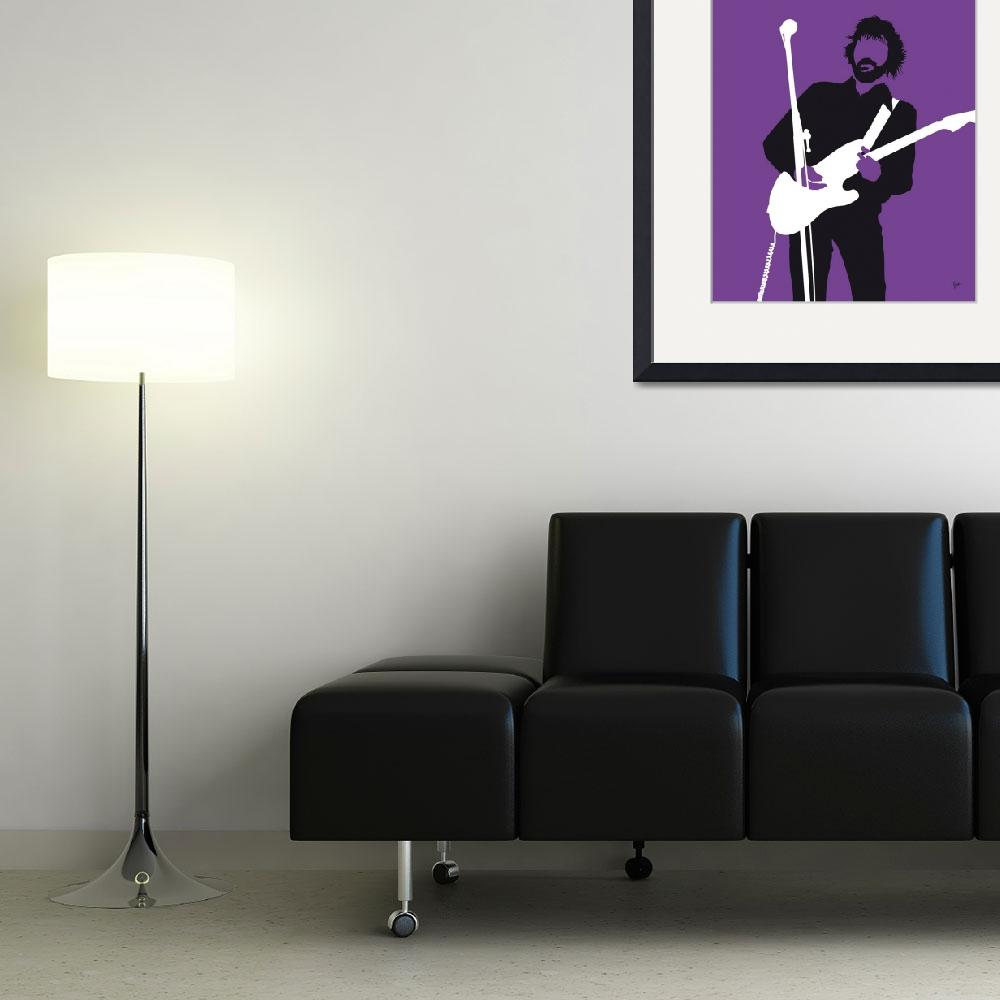 """""""No141 MY ERIC CLAPTON Minimal Music poster&quot  by Chungkong"""