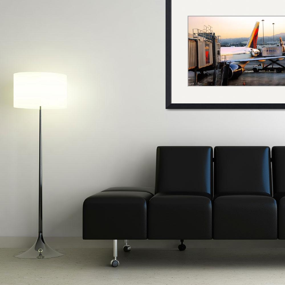 """""""airport Delta fin at SFO&quot  (2008) by eyecontact"""
