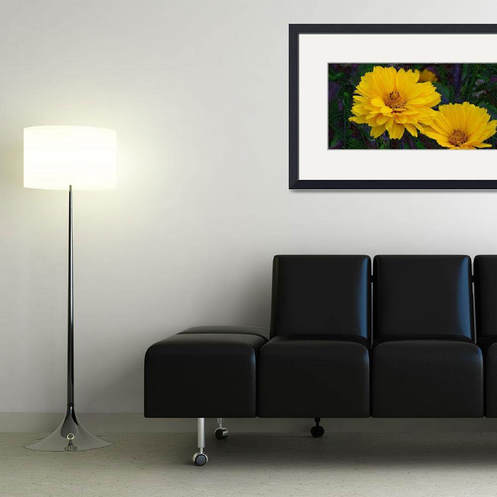 """""""Coreopsis""""  (2011) by eGiclee"""
