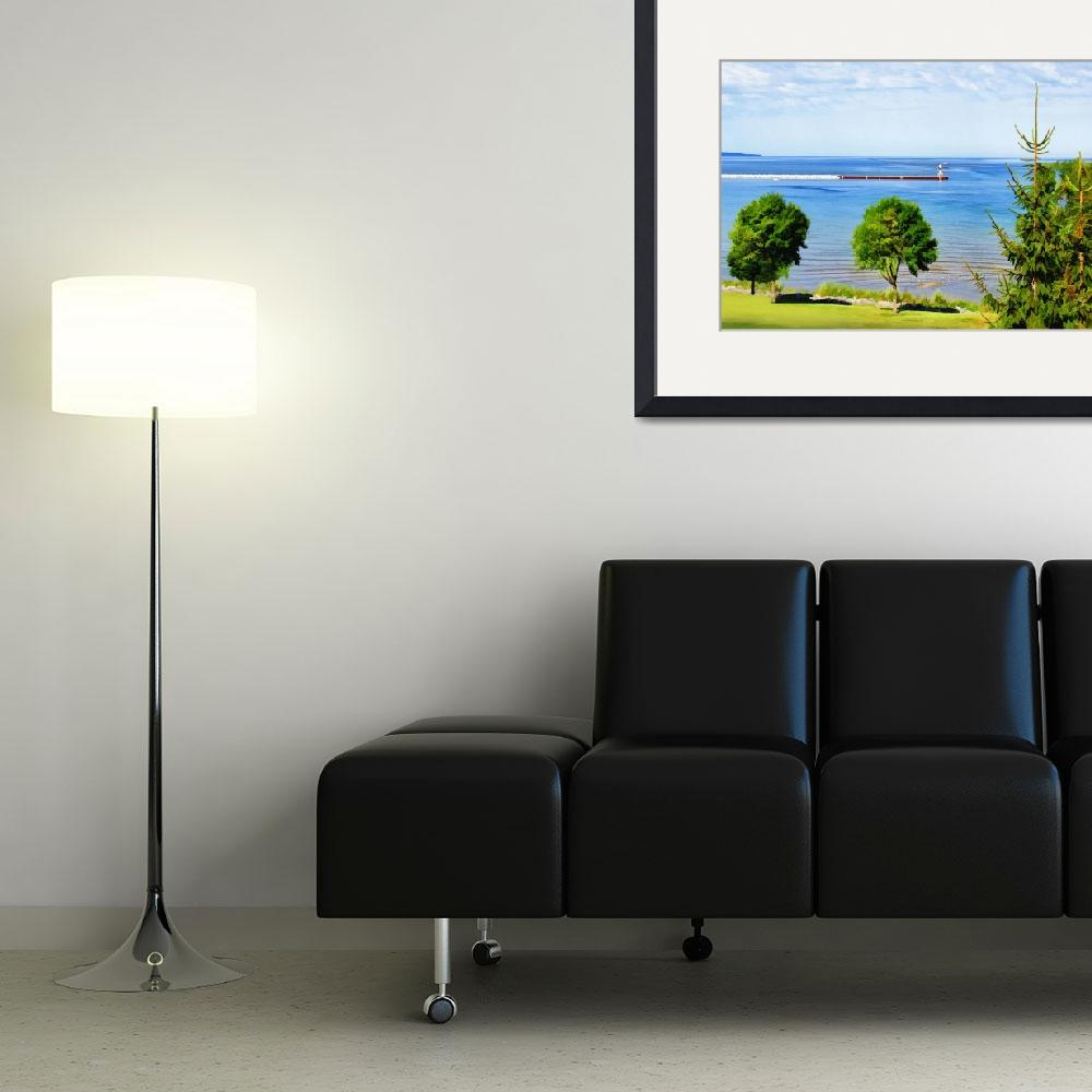 """""""Petoskey Bay&quot  (2011) by patsphotos"""