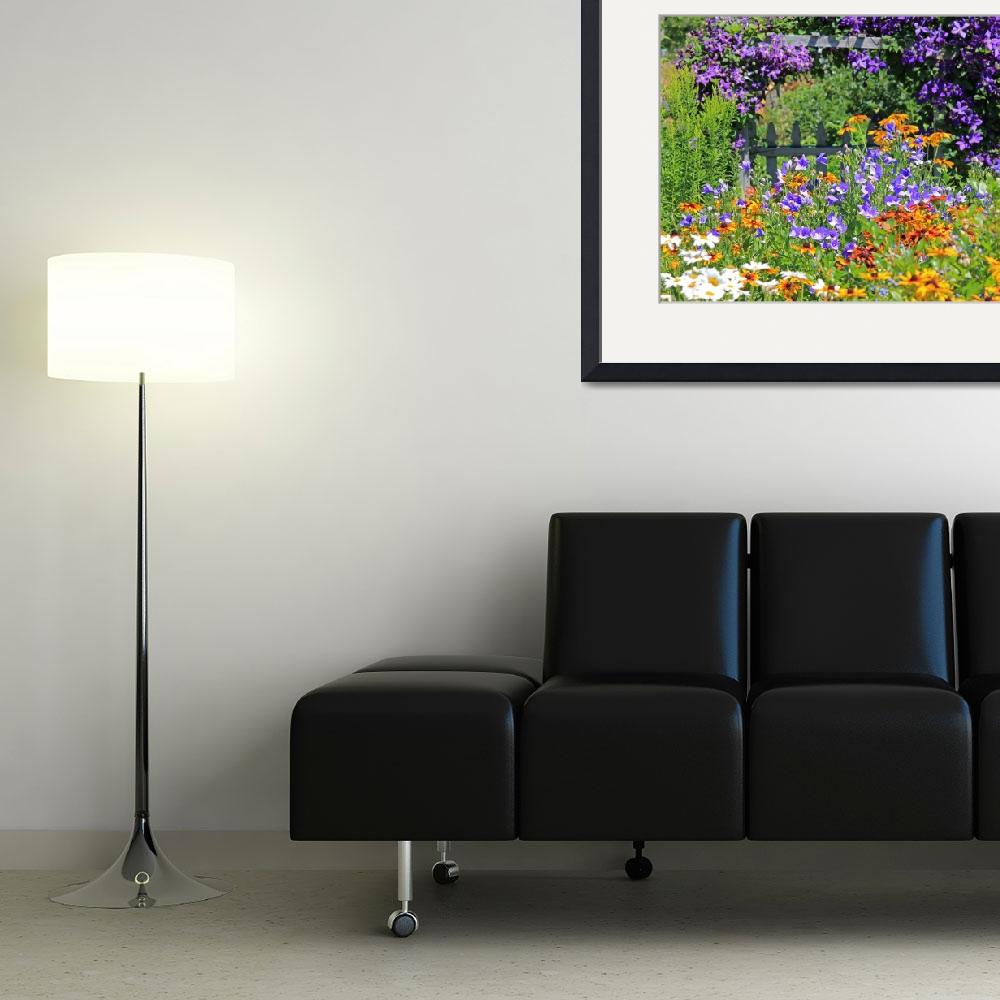 """""""Country Garden Explosion of Color&quot  (2011) by crazysuncompany"""