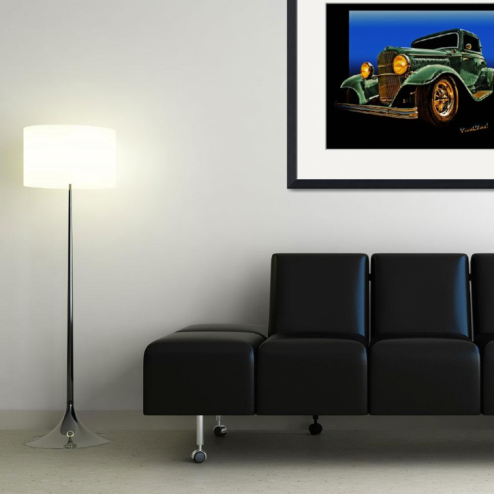 """This 32 Ford Coupe Jumps Off The Page&quot  (2012) by chassinklier"