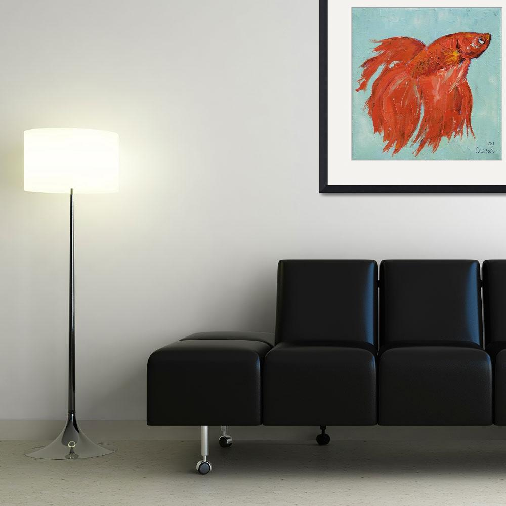 """""""Siamese Fighting Fish&quot  by creese"""