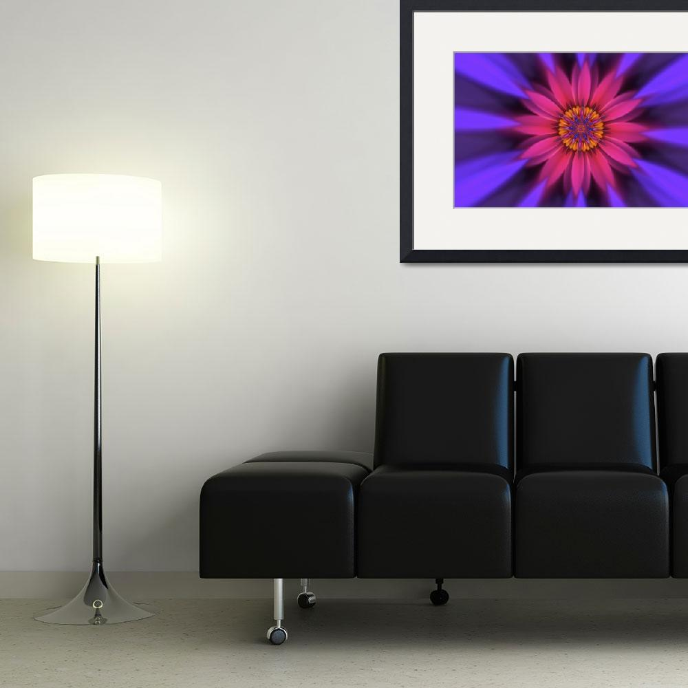 """""""flower translucent 10""""  (2012) by ecolosimo"""
