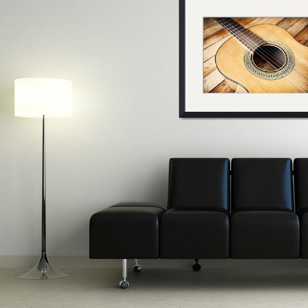 """""""Gibson Acoustic&quot  (2010) by billmilesphoto"""