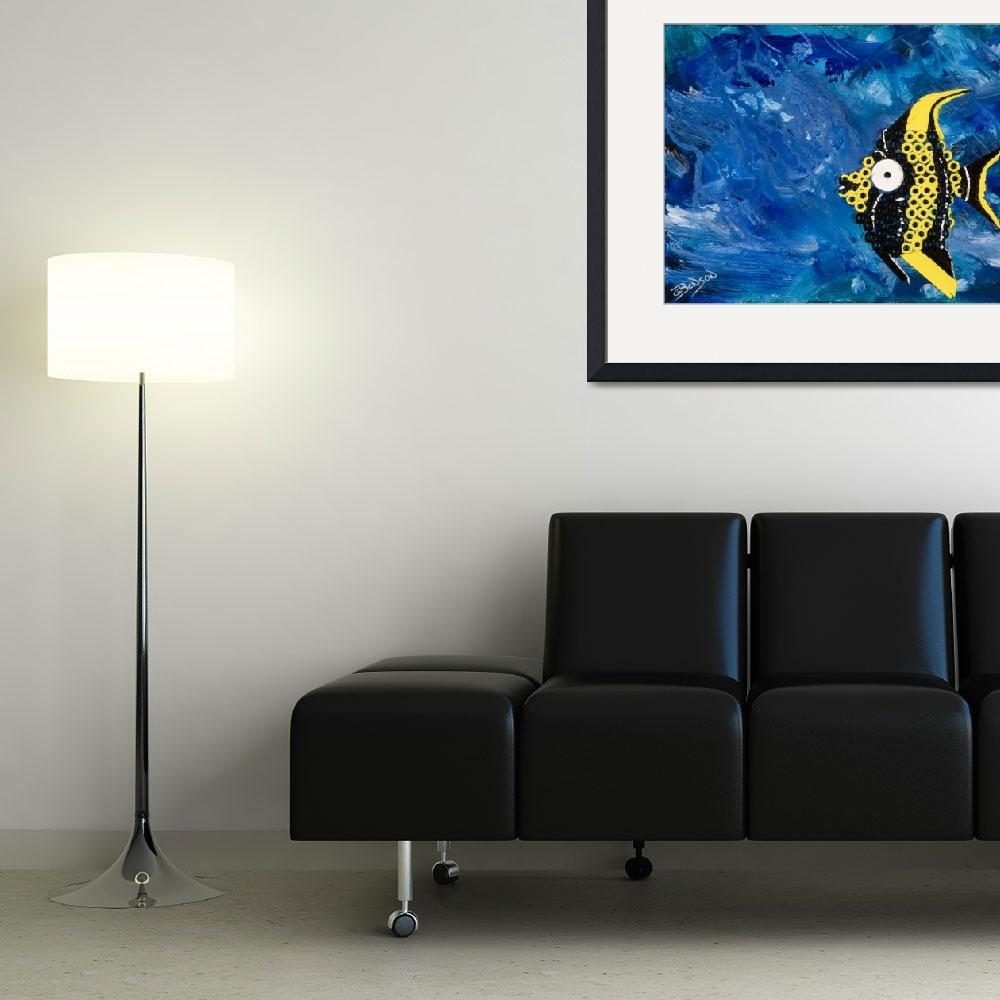 """""""something_really_fishy&quot  (2010) by gbensonart"""
