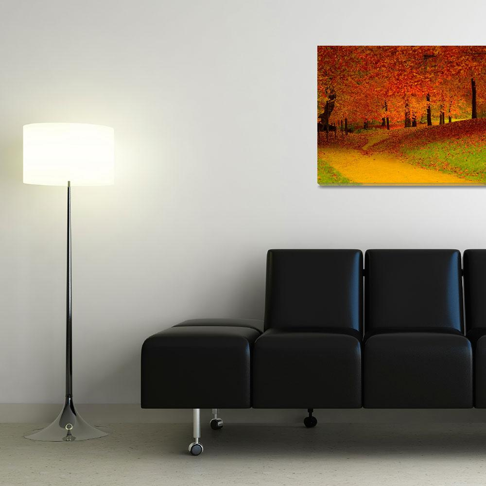 """""""red trees""""  (2007) by B_Next"""