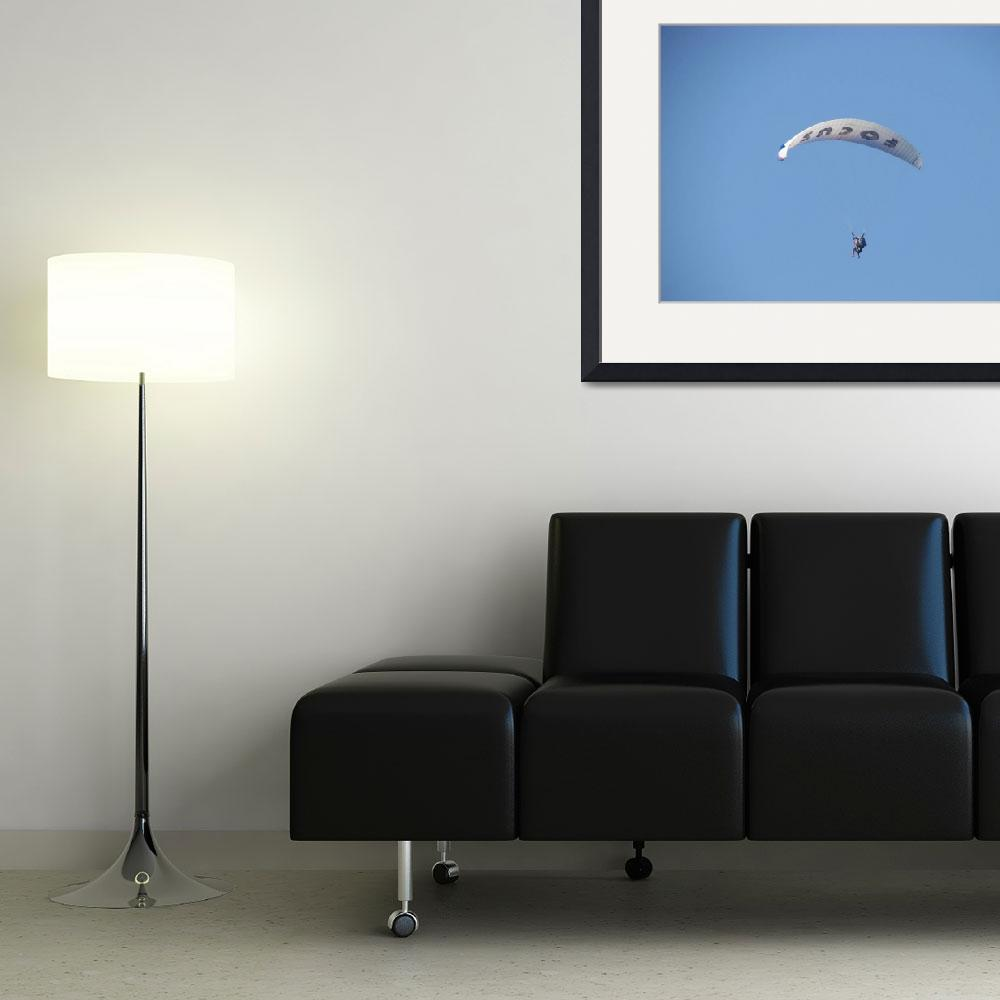"""""""Paraglider&quot  (2008) by malcolmsnook"""