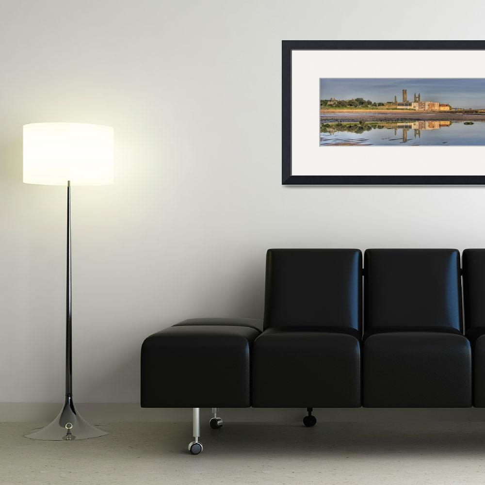 """""""St Andrews at Low tide&quot  (2009) by skreid"""